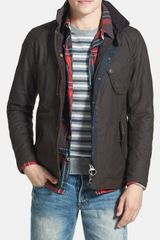 Barbour Cassells Waterproof Waxed Cotton Jacket - Lyst