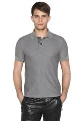 Belstaff Asplay Cotton Piqué Biker Polo