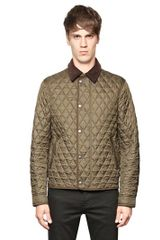 Burberry Brit Quilted Nylon Jacket - Lyst