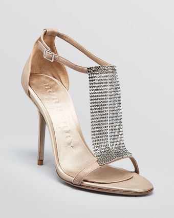Burberry Evening Sandals Margave High Heel - Lyst