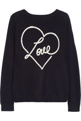 Chinti And Parker Loveintarsia Cashmere Sweater - Lyst