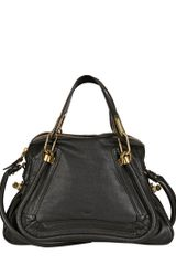Chloé Medium Paraty Grained Leather Bag - Lyst