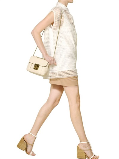 chloe inspired handbags - elsie small bag in grained leather