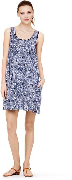Club Monaco Narella Printed Dress - Lyst