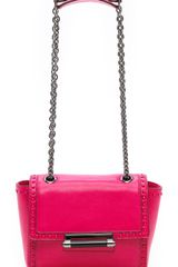 Diane Von Furstenberg 440 Mini Faceted Studded Shoulder Bag - Lyst