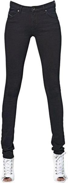 Diesel Black Gold Extra Soft Skinny Fit Denim Jeans - Lyst
