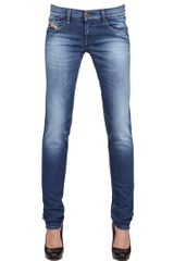 Diesel Stretch Denim Getlegg Jeans - Lyst