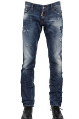 DSquared2 185cm Slim Cotton Denim Jeans - Lyst