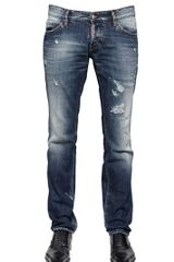 DSquared2 185cm Slim Fit Cotton Denim Jeans - Lyst