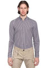 DSquared2 Cotton Poplin Button-Down Shirt - Lyst