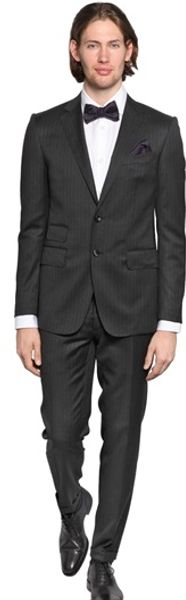 DSquared2 Milano Cool Wool Pinstripe Suit - Lyst