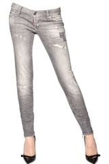 DSquared2 Skinny Stretch Cotton Denim Jeans - Lyst