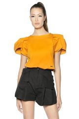 DSquared2 Stretch Cotton Top - Lyst