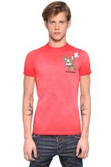 DSquared2 Ciro Sexy Slim Fit Cotton T-Shirt - Lyst