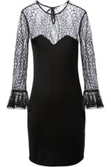 Emilio Pucci Floral Lace Dress - Lyst