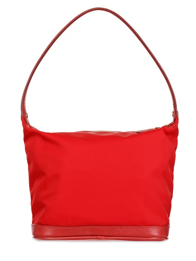 866d4a1ee8 Lyst - Ferragamo Vara Nylon Makeup Bag in Red