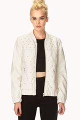 Forever 21 Retro Fresh Bomber Jacket
