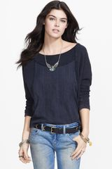 Free People Luella Embroidered Cotton Pullover - Lyst
