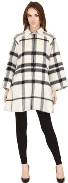 Gianluca Capannolo Alpaca Cloth Coat - Lyst
