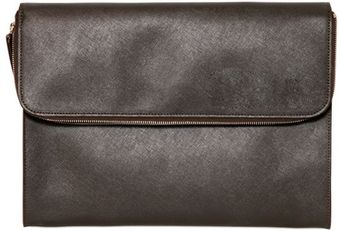 Giorgio Armani Saffiano Leather Document Holder - Lyst