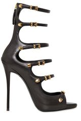 Giuseppe Zanotti 120mm Soft Leather Cage Sandals - Lyst