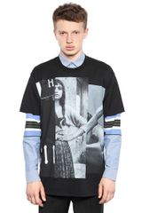 Givenchy Cotton Jersey Columbian Fit Tshirt - Lyst