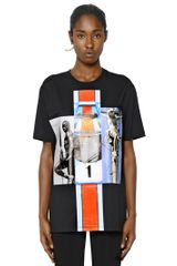 Givenchy Cotton Jersey T-shirt - Lyst