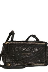 Givenchy Mini Pandora Washed Leather Shoulder Bag - Lyst