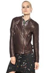 Givenchy Soft Nappa Leather Biker Jacket - Lyst