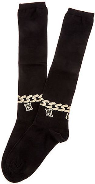 House Of Holland The Anklet Knee Socks - Lyst