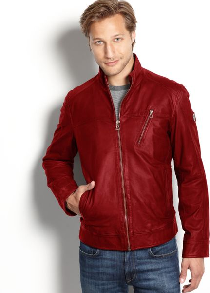 Red Leather Jackets Leather Jackets For Men For Women For Girls For Men With Hood Pakistan For Men Price For Women Outfits Images