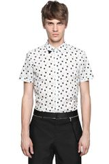 Iceberg Cotton Poplin Short Sleeved Shirt - Lyst
