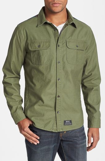 Insight Mountain Fold Military Shirt - Lyst