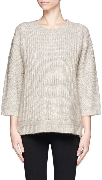 J.Crew Texturedstitch Sweater - Lyst