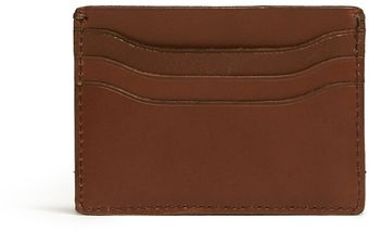 J.Crew Leather Card Holder - Lyst
