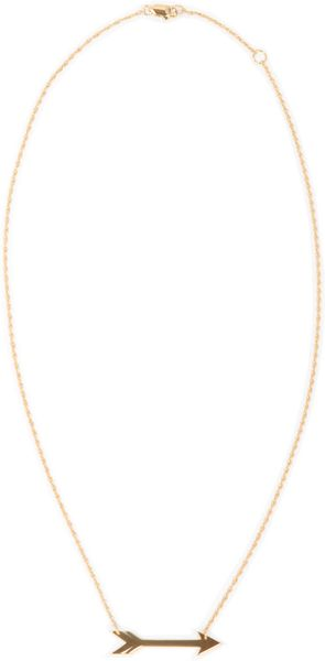 Jennifer Zeuner Montana 1 Horizontal Arrow Necklace - Lyst