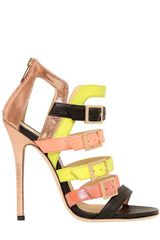 Jimmy Choo 120mm Booster Patent Leather Sandals - Lyst