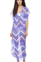 Josa Tulum V Largo Cover Up Dress - Lyst