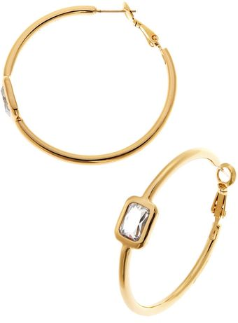 Kate Spade Opening Night Hoop Earrings - Lyst