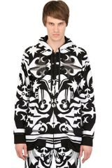 Ktz Tattoo Printed Fleece Hooded Sweatshirt - Lyst