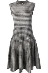 Lanvin Herringbone Dress - Lyst