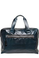 Lanvin Paper Effect Leather Bag - Lyst