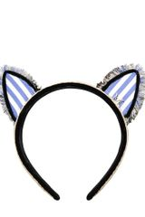Maison Michel Yoko Cat Ear Headband - Lyst