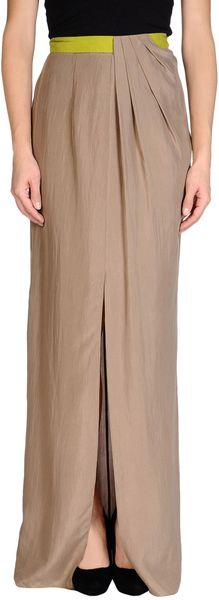 Matthew Williamson Long Skirt - Lyst