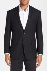 Michael Kors Trim Fit Wool Blazer - Lyst
