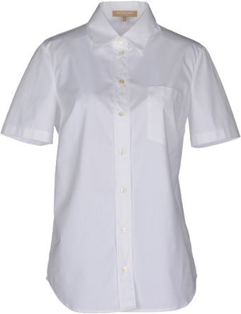 Michael Kors Short Sleeve Shirt - Lyst