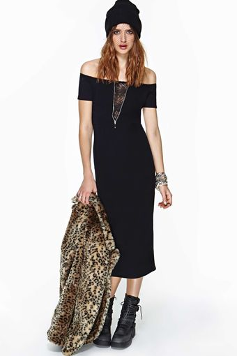 Nasty Gal Motel Leena Maxi Dress - Lyst