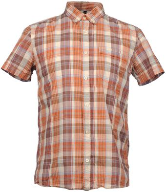 Nudie Jeans Short Sleeve Shirt - Lyst