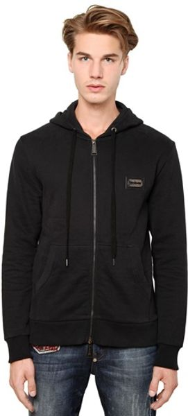 Philipp Plein Cotton Car Hooded Sweatshirt - Lyst