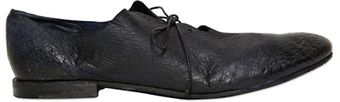 Premiata Super Soft Washed Leather Oxford Shoes - Lyst